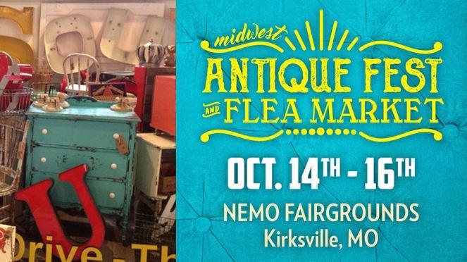 midwest antique Fest & Flea Market Kirksville MO