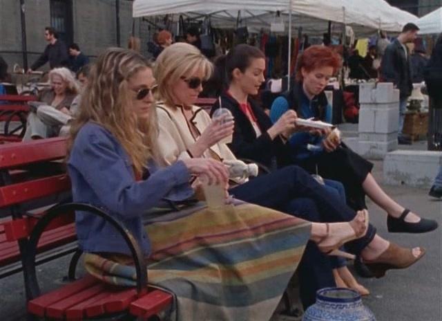 SATC flea market lunch