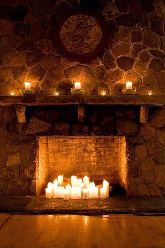 candles-in-fireplace-mantel