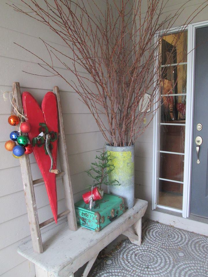 Christmas porch inspiration