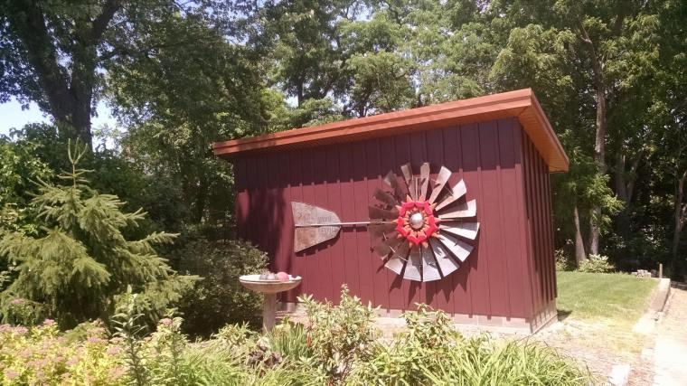 windmill on shet