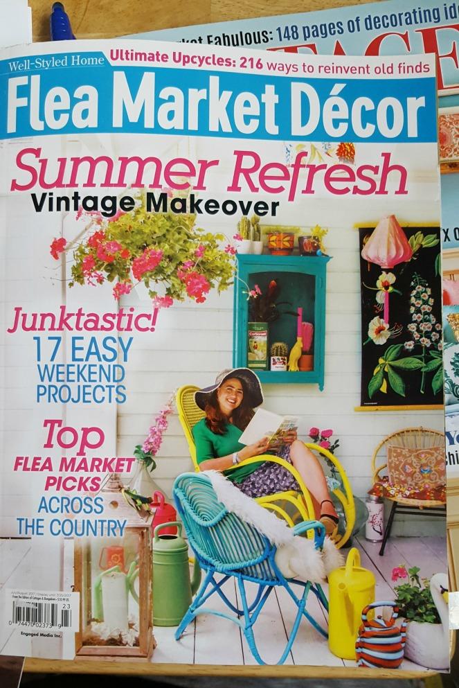 Flea Market Decor Mag mayjune 2017