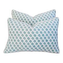 designer Italian Fortuny Persiano pillows
