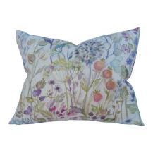 linen seed head pillow