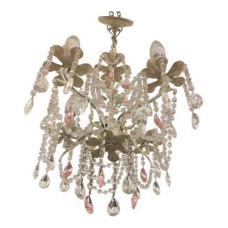 shabby chic crystal chandelier