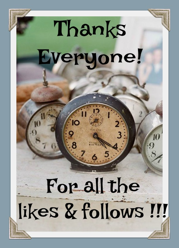 Thanks Everyone for the likes and follows vintage-alarm-clocks-old-clocks
