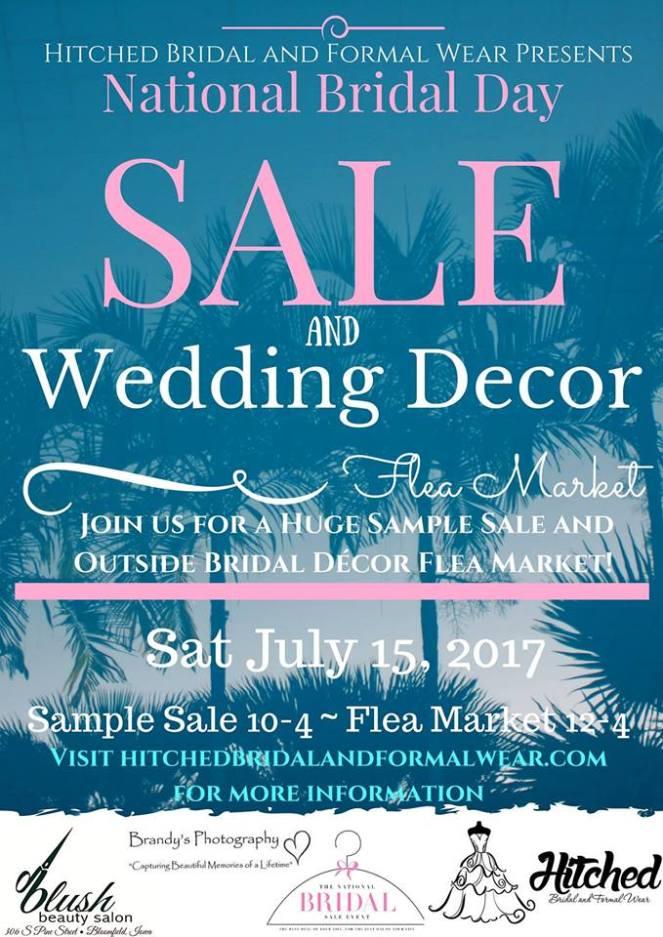 Hitched Bridal Wedding Decor Flea Market & Sample sale