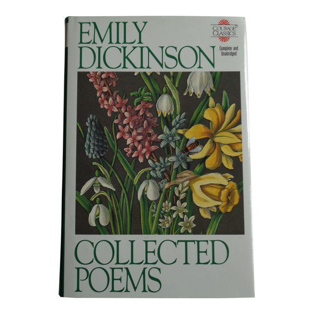 Emily Dickinson poem book on Chairish