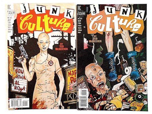 junk culture comic books psycho pop
