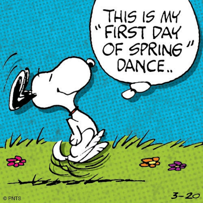 first day of Spring dance