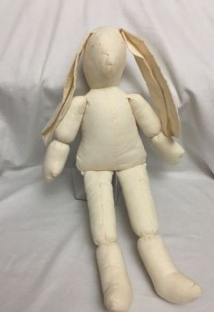 handmade bunny from eBay