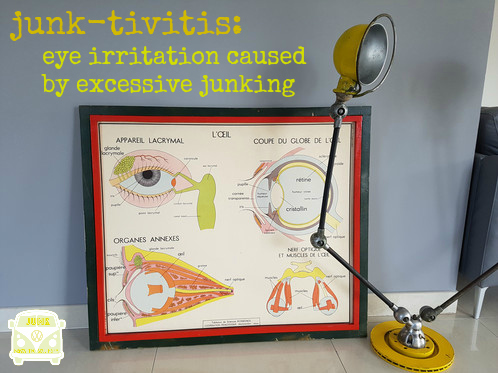 junk-tivitis vintage eye anatomy poster