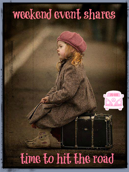 weekend event shares little girl suitcase