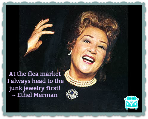 ethel merman junk jewelry